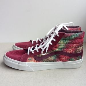 Vans High Top Multicolour Lace-Up Sneakers